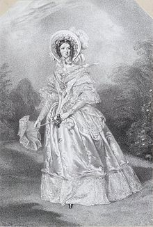 A rare portrait of Ann Thwaytes, by Alfred Edward Chalon