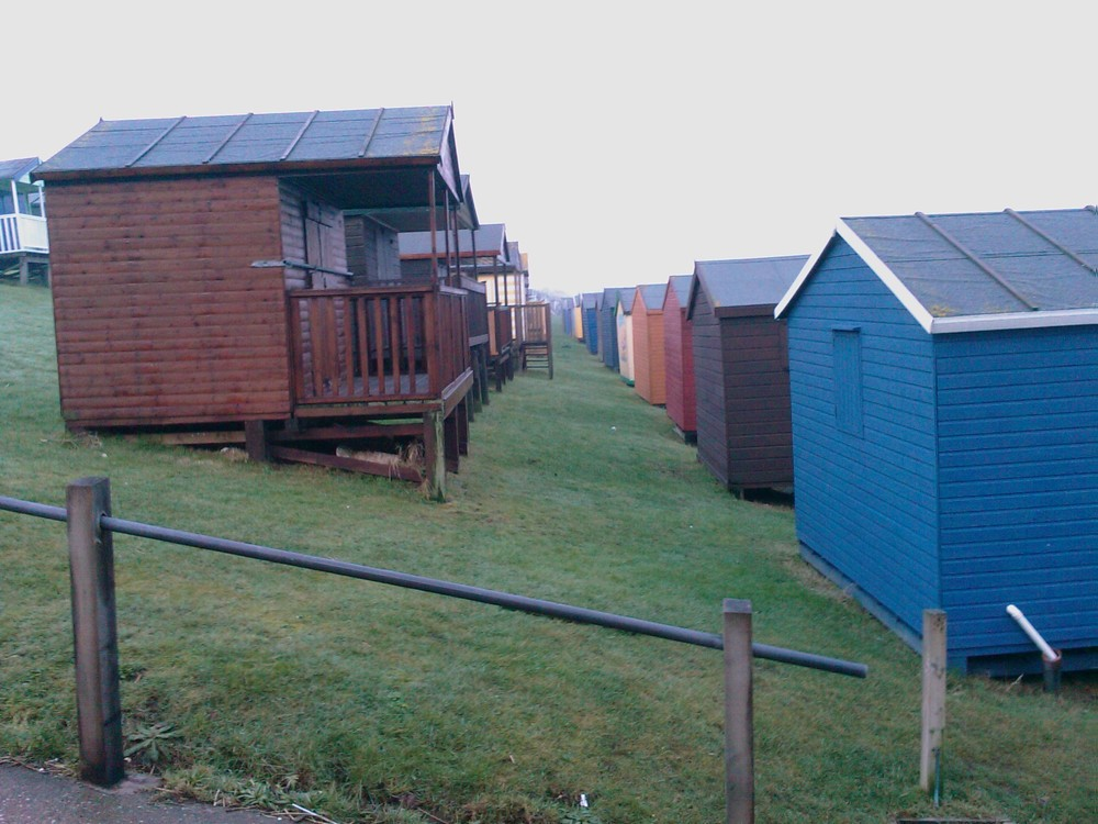 Huts at Tankerton