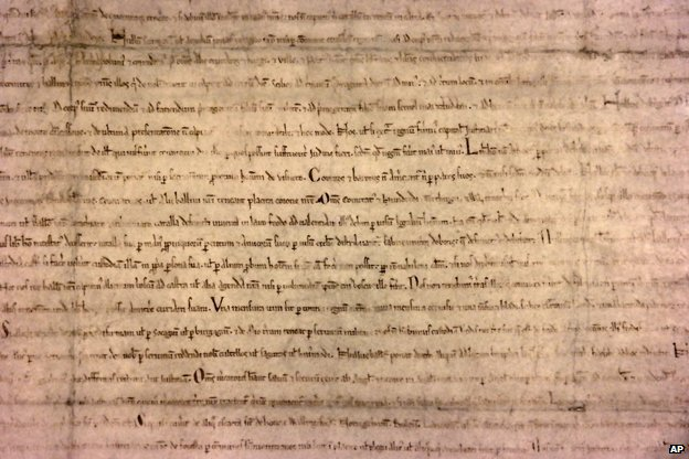The Lincoln Cathedral Magna Carta is one of four surviving examples of the 1215 parchment document out of 40 penned