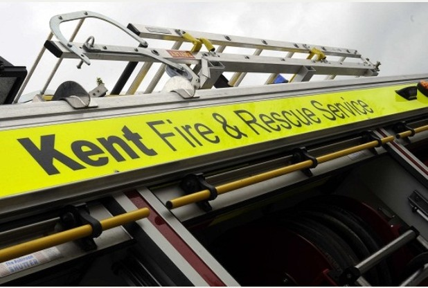 Elderly lady rescued from Herne Bay kitchen fire