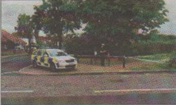Police at Memorial Park in Herne Bay after the attack