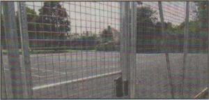LOCKED UP: People will soon have to pay to play tennis in Herne Bay Memorial Park