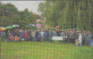 SUPPORT: Campaigners turned out in droves for Save Kingsmead Field events