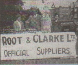Root and Clarke were the official suppliers of motor parts
