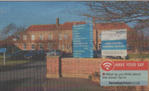 LOSS OF SERVICES: The Queen Victoria Hospital Herne Bay
