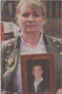 Mother Carolyn Hoare, was told of the intended prosecution of Watling Tyres, on the ninth anniversary of her son's death