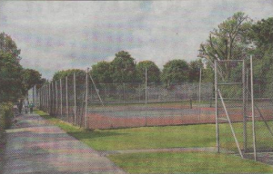 Herne Bay Memorial Paric tennis courts