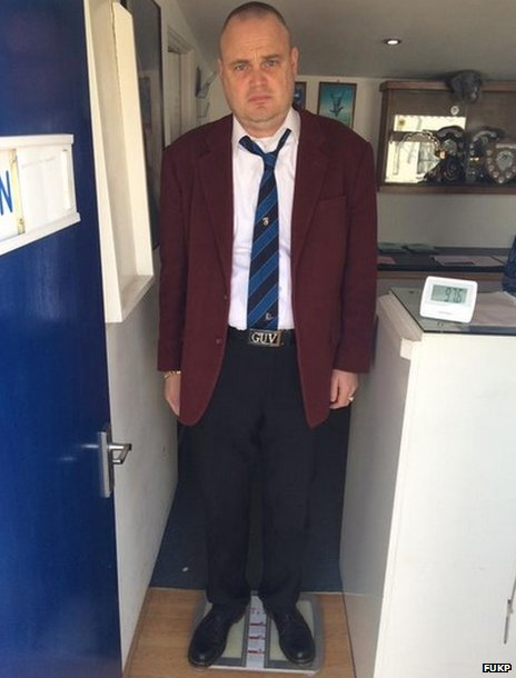 Al Murray on scales