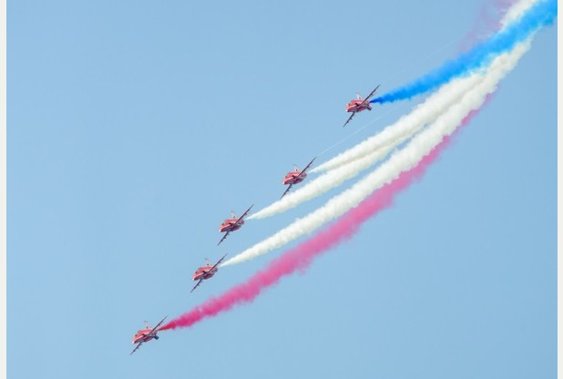 The Red Arrows are coming to Herne Bay