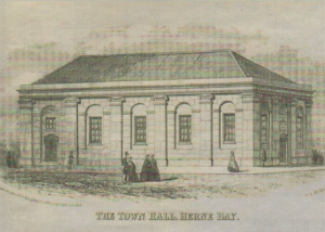 HOME FOR DEMOCRACY: Herne Bay Town Hall, photo courtesy of Herne Bay Historical Records Society curator and archivist Mike Bundock