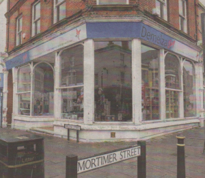 The Demelza charity shop in Mortimer Street, Herne Bay, which could become a pizza restaurant
