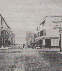 WHEEL TRACKS: William Street from Mortimer Street in Herne Bay. Photo from Herne Bay Historical Records Society curator and archivist Mike Bundock