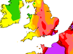 This map from DEFRA shows the worst affected areas