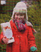 EGG-CELLENT: Rosa Cary, who won the second duck race, with her prize at Kingsmead Field