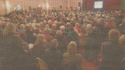 PACKED: Herne Bay residents turned out in force to show officials the strength of feeling about the Queen Vic